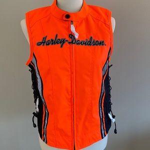 Harley-Davidson Hi Vis, Water Resistant Vest
